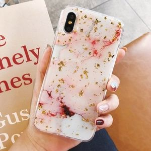 Accessories - NEW iPhone 7/8/Plus/X/XS Marble Case